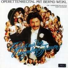 Bernd Weikl - Operettenrecital, CD