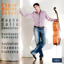Daniel Müller-Schott spielt Cellokonzerte, CD