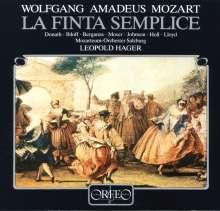 Wolfgang Amadeus Mozart (1756-1791): La Finta Semplice (120 g), 4 LPs