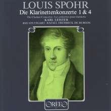 Louis Spohr (1784-1859): Klarinettenkonzerte Nr.1 & 4, CD