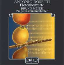 Antonio Rosetti (1750-1792): Flötenkonzerte in C,F,G,G (Murray B1,3-5), CD