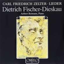 Karl Friedrich Zelter (1758-1832): Lieder (120 g), LP