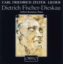 Karl Friedrich Zelter (1758-1832): Lieder, CD
