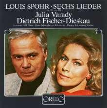 Louis Spohr (1784-1859): Lieder, CD