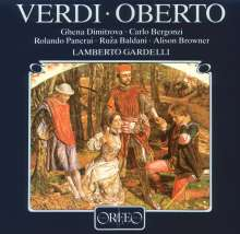 Giuseppe Verdi (1813-1901): Oberto (120 g), 3 LPs