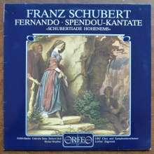 Franz Schubert (1797-1828): Fernando D.220 (Singspiel/120g), LP