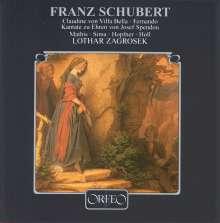 Franz Schubert (1797-1828): Claudine von Villa Bella D.239 (Fragment), CD