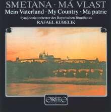 """Bedrich Smetana (1824-1884): Mein Vaterland (incl.""""Die Moldau""""/120 Gramm-Pressung), 2 LPs"""