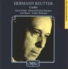 Hermann Reutter (1900-1985): Lieder, CD