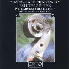 Astor Piazzolla (1921-1992): Die 4 Jahreszeiten f.Bandoneon & Cello-Ensemble, CD