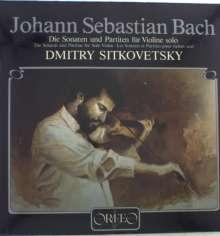 Johann Sebastian Bach (1685-1750): Sonaten & Partiten für Violine BWV 1001-1006 (120 g), 3 LPs