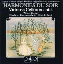 Werner Thomas - Virtuose Celloromantik, LP