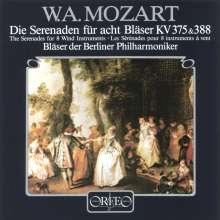 Wolfgang Amadeus Mozart (1756-1791): Serenaden Nr.11 & 12, CD