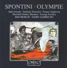 Gaspare Spontini (1774-1851): Olympie (120 g), 3 LPs