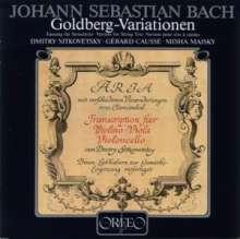 Johann Sebastian Bach (1685-1750): Goldberg-Variationen BWV 988 für Streichtrio (120g), LP