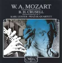 Bernhard Crusell (1775-1838): Klarinettenquartett Nr.2 c-moll op.4, CD