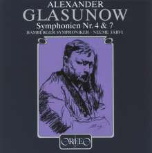 Alexander Glasunow (1865-1936): Symphonien Nr.4 & 7, CD
