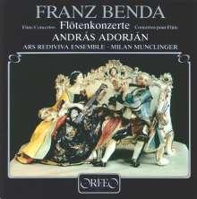 Frantisek Benda (1709-1786): Flötenkonzerte in e,A,a, CD