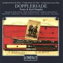 Albert Franz Doppler (1821-1883): Kammermusik für Flöte, CD