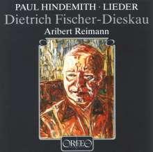Paul Hindemith (1895-1963): 19 Klavierlieder, CD