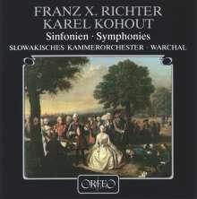 Franz Xaver Richter (1709-1789): Symphonien G-dur,C-dur,B-dur (120 g), LP