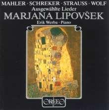 Marjana Lipovsek singt Lieder, CD
