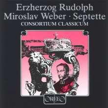 Rudolf Erzherzog von Österreich (1788-1831): Septett e-moll (120 g), LP