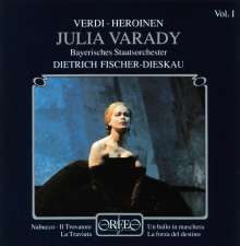 Julia Varady singt Verdi-Heroinen Vol.1, CD