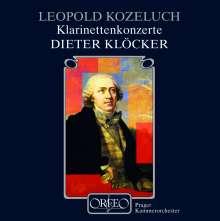 Leopold Kozeluch (1747-1818): Klarinettenkonzerte Nr.1 & 2, CD