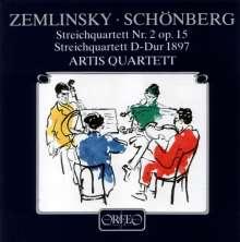 Alexander von Zemlinsky (1871-1942): Streichquartett Nr.2, CD
