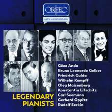 Legendary Pianists (Orfeo Edition), 10 CDs