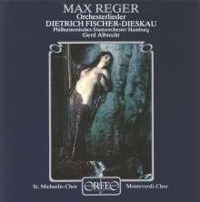 Max Reger (1873-1916): Orchesterlieder, CD