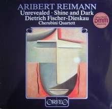 Aribert Reimann (geb. 1936): Unrevealed f.Bariton & Streichquartett (120 g), LP
