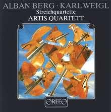 Karl Weigl (1881-1949): Streichquartett Nr.3 (120 g), LP