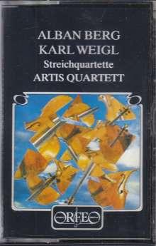 Karl Weigl (1881-1949): Streichquartett Nr.3, MC