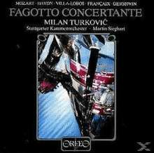 Milan Turkovic spielt Fagottkonzerte (120 g), LP
