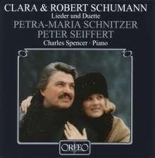 Robert Schumann (1810-1856): Duette & Lieder, CD