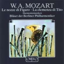 Wolfgang Amadeus Mozart (1756-1791): Harmoniemusik (120 g), LP