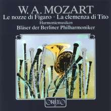 Wolfgang Amadeus Mozart (1756-1791): Harmoniemusik, CD