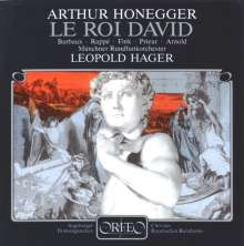 Arthur Honegger (1892-1955): Le Roi David, CD