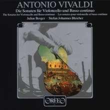 Antonio Vivaldi (1678-1741): Sonaten für Cello & Bc RV 39-47, 2 LPs