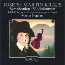 Josef Martin Kraus (1756-1792): Symphonie funebre c-moll, CD