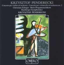 Krzysztof Penderecki (geb. 1933): Violinkonzert Nr.1 (1976), CD