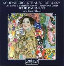 Julie Kaufmann singt Lieder, CD