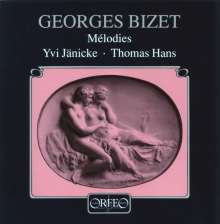Georges Bizet (1838-1875): Lieder, CD