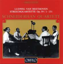 Ludwig van Beethoven (1770-1827): Streichquartette Nr.7 & 14, CD
