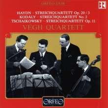 Vegh Quartett, CD