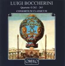 Luigi Boccherini (1743-1805): Bläserquartette G.262 & 263, CD