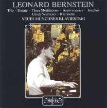 Leonard Bernstein (1918-1990): Klaviertrio, CD