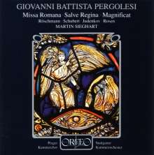 Giovanni Battista Pergolesi (1710-1736): Missa Romana F-Dur, CD